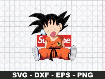 Son Goku Supreme SVG