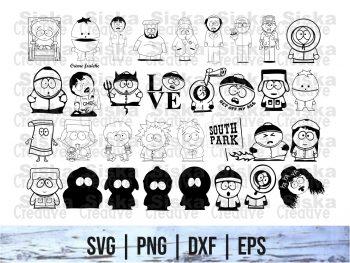 South Park Vector SVG