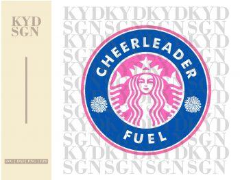 Starbucks Cheer Leader Fuel SVG