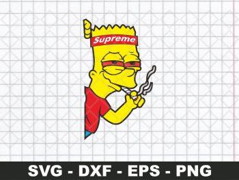 The Simpsons Supreme SVG