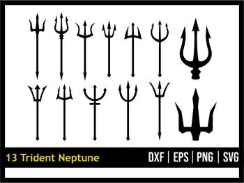 Trident Neptune SVG