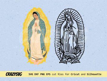 Virgen De Guadalupe SVG