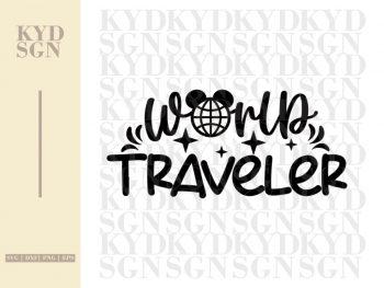 World Traveler SVG