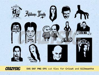 Addams Family SVG