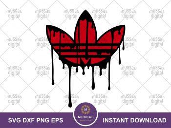 Adidas Logo Drip