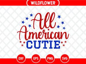All American Cutie SVG