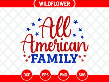 All American Family SVG