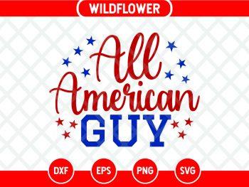 All American Guy SVG