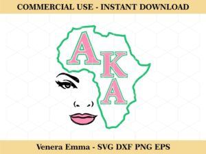 Alpha Kappa Alpha Africa cut File