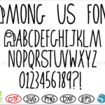 Among Us Font 1 1 Vectorency Among Us Font OTF + Among Us Font SVG + Among Us Logo svg vector | Among Us letters svg, Among Us numbers svg, Among Us alphabet svg