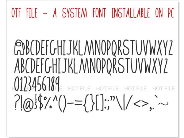 Among Us Font 2 4 Vectorency Among Us Font OTF + Among Us Font SVG + Among Us Logo svg vector   Among Us letters svg, Among Us numbers svg, Among Us alphabet svg