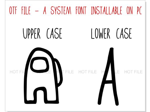 Among Us Font 3 4 Vectorency Among Us Font OTF + Among Us Font SVG + Among Us Logo svg vector   Among Us letters svg, Among Us numbers svg, Among Us alphabet svg