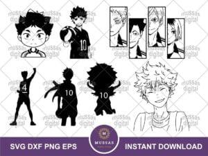 Anime Nekoma SVG Bundle