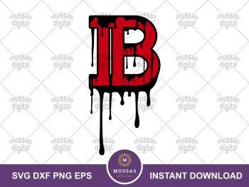 Balmain Brand Logo Drip