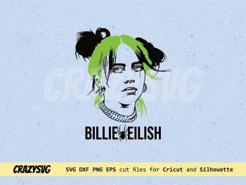 Billie Eilish Spider SVG