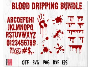 Blood Dripping 1