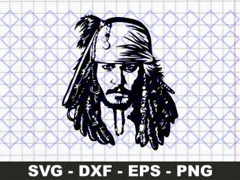 Captain Jack Sparrow Digital
