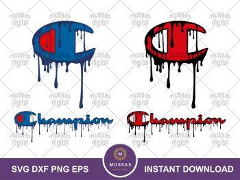 Champion Logo Drip