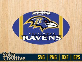 Cricut Vector Baltimore Ravens SVG PNG
