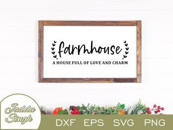 Farmhouse Definition SVG