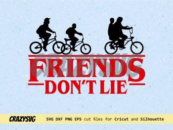 Friends Don't Lie Design Stranger Things
