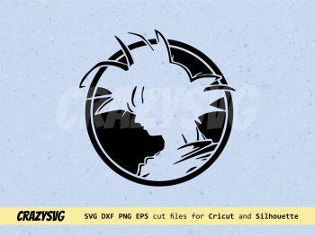 Goku SVG Dragon Ball SVG PNG EPS Vector Dragonball Z Clipart