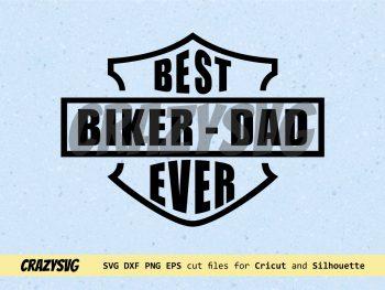 Harley Davidson Best Biker Dad Ever