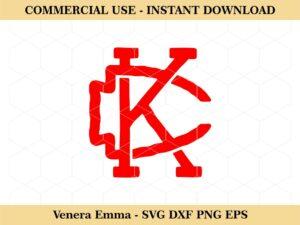 KC Kansas City T Shirt Design SVG Vector