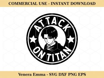Levi Attack On Titan SVG Vector Image