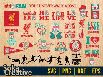 Liverpool SVG Bundle