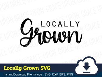 Locally Grown SVG