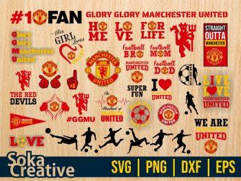Manchester United SVG Bundle