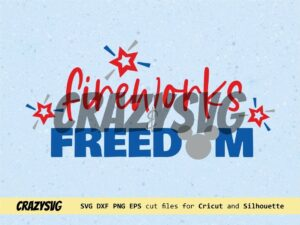 Mickey Mouse Fireworks and Freedom Cut File