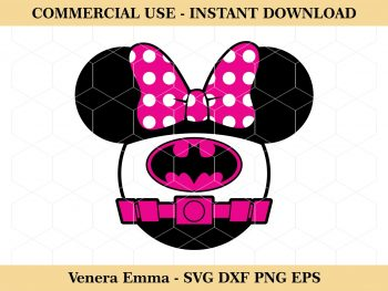 Minnie Mouse Batgirl
