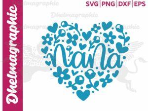 Nana, Heart , Happy Mother's Day