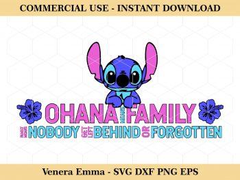 Ohana Means Family Lilo and Stitch