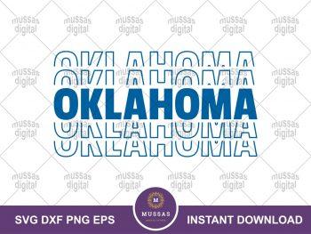 Oklahoma Mirror Style SVG