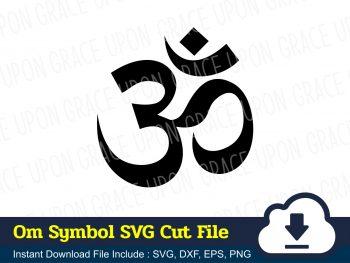 Om Symbol SVG Cut File
