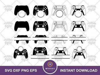 PS5 Game Controller Monogram