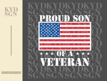 Proud Son Of A Veteran