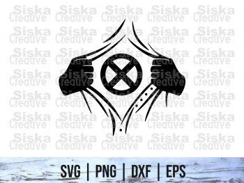 Rip Tear Shirt Superhero X-Men