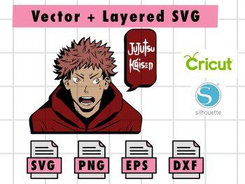THUMBNAILVectorency 2 Vectorency Anime SVG