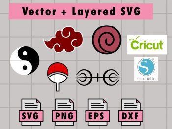 THUMBNAILVectorency 3 Vectorency Anime SVG