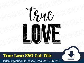 True Love SVG