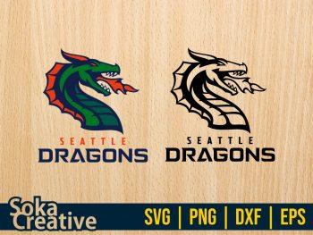 XFL Team Seattle Dragons