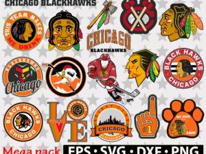 Chicago Blackhawks svg
