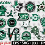 Dallas Stars svg