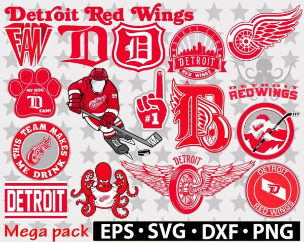 Detroit Red Wings svg