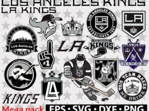 Los Angeles Kings svg