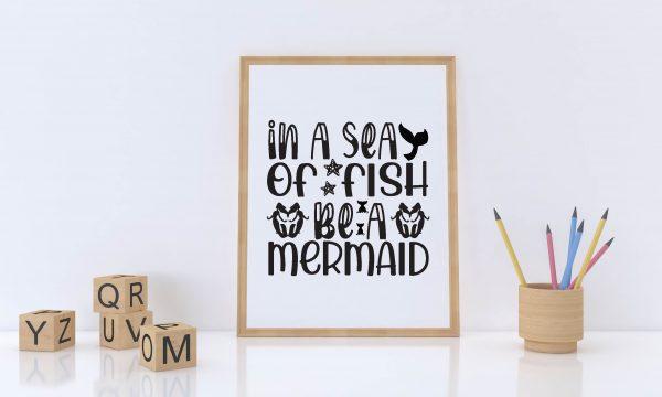 16 01 4 Vectorency Mermaid SVG Bundle Vol 7